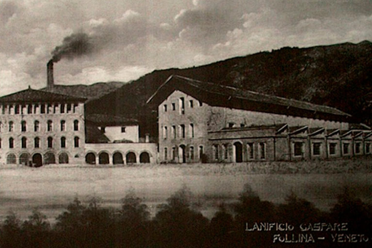 Imatge de Joan Paloma. Crèdits imatges: Lanificio Paoletti, Arxiu Històric de Sabadell, Antoni Peñarroya/MHS.