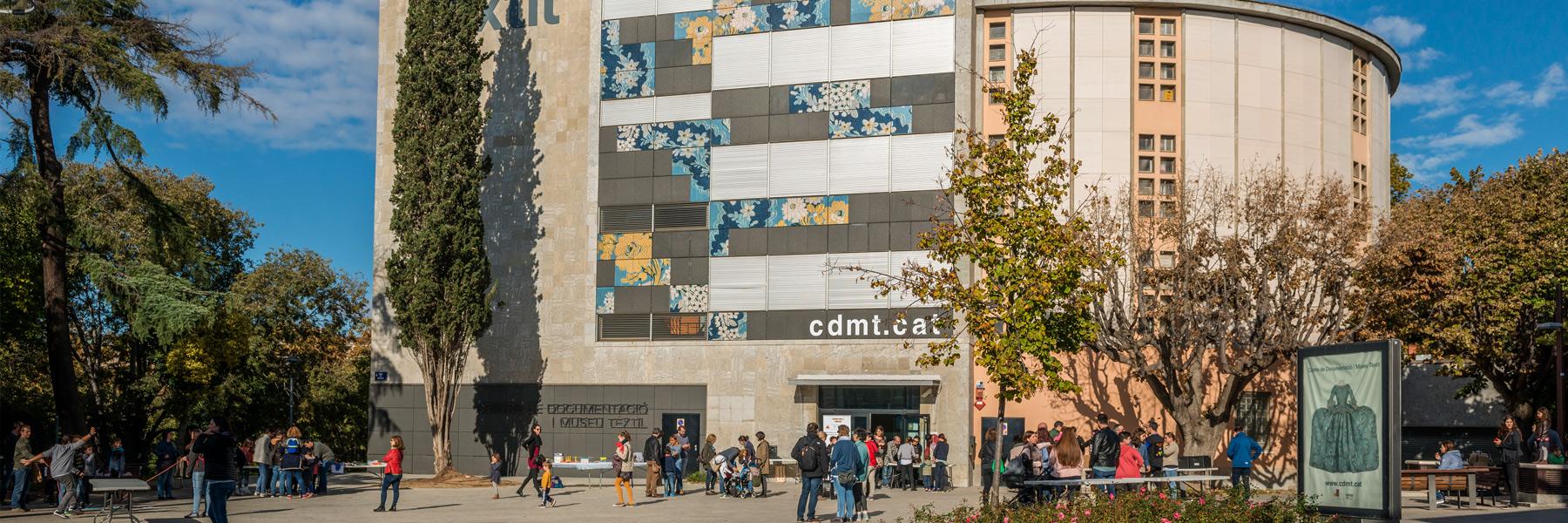 Imatge façana Museu Tèxtil
