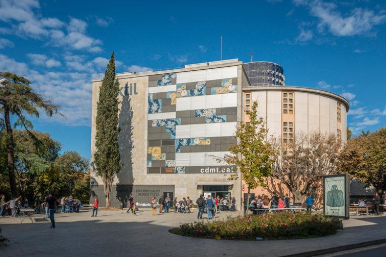 Imatge façana Museu Tèxtil.