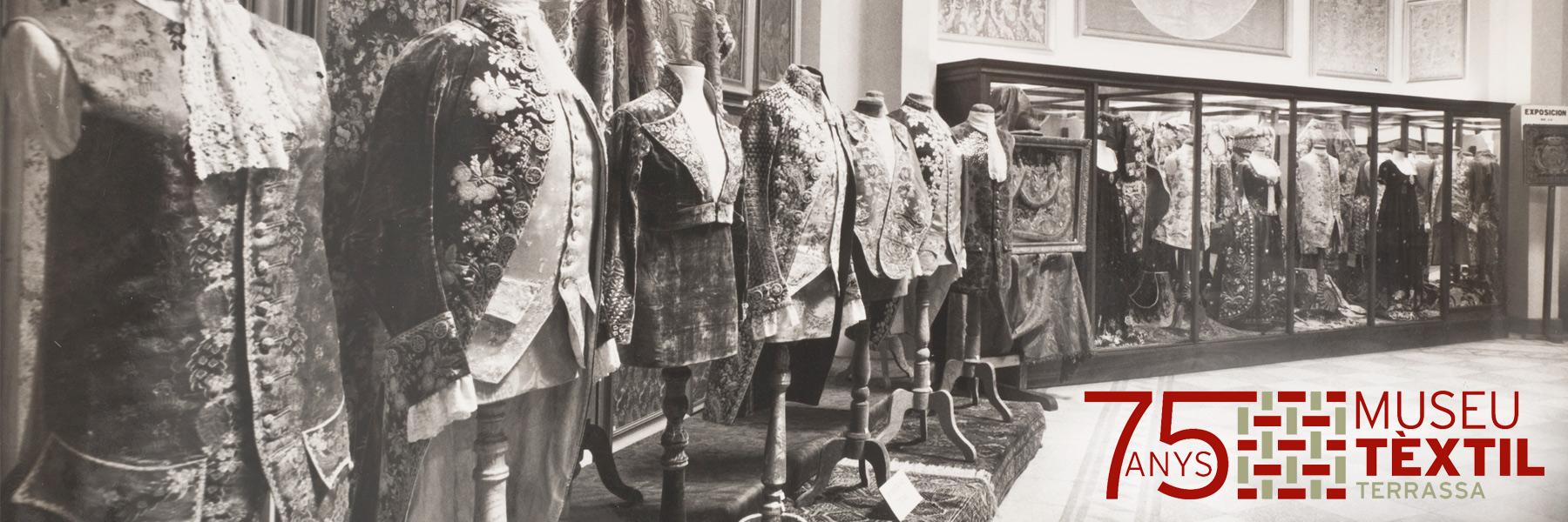 Imatge 75 anys Museu Tèxtil de Terrassa.