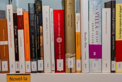 Imatge biblioteca Sant Jordi 2021.