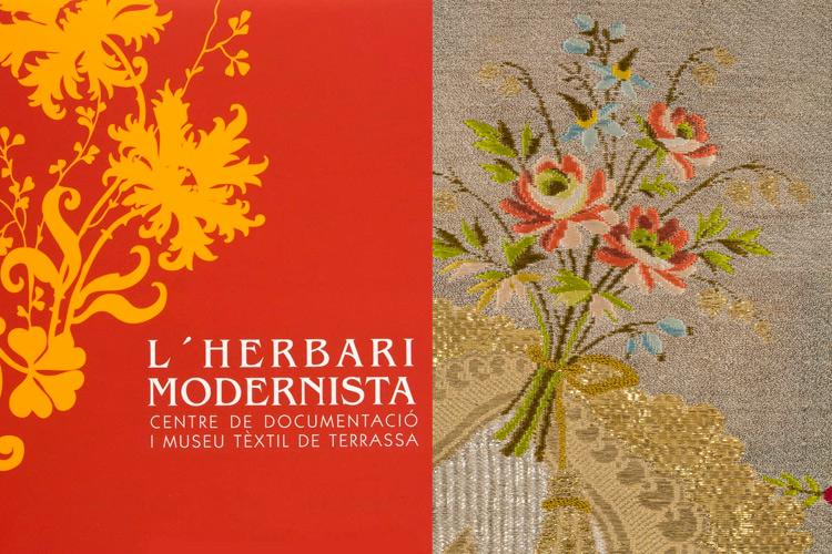 Imatge portada llibre exposició L'HERBARI MODERNISTA