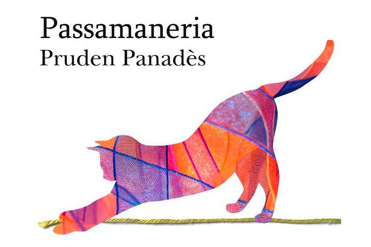 """Imatge detall portada llibre """"Passamaneria"""" de Pruden Panadès."""