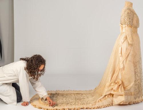 Un vestit de núvia modernista: Juana Valls modista de Barcelona